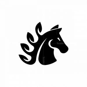 Horse Leaf Logo