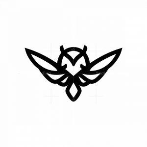 Iconic Simple Owl Logo