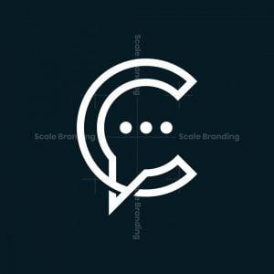 Letter C Chat Logo