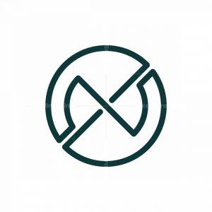 Letter N Unique Logo