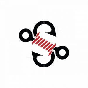 S Hook Rope Logo