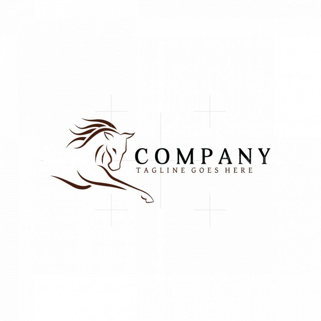 Stylish Horse Logo