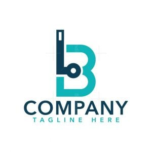 Letter B Snorkeling Logo