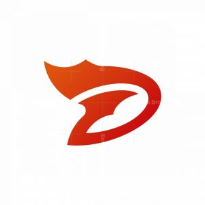 Letter D Dynamic Logo