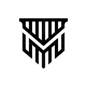 Letter M Law Logo