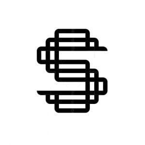 Letter S Loop Logo