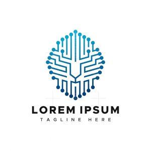 Digital Lion Head Logo