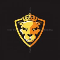 Lion Queen Logo