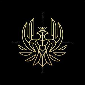 Luxury Heraldic Phoenix Logo