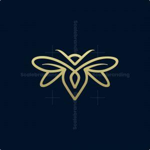 Luxury Minimalist Bee Logo