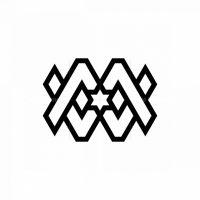 Mw Hexagram Star Logo