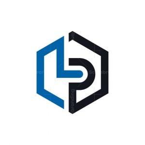 Masculine Letter Lp Logo