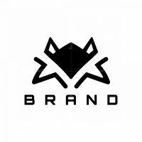 Minimal Fox Head Logo