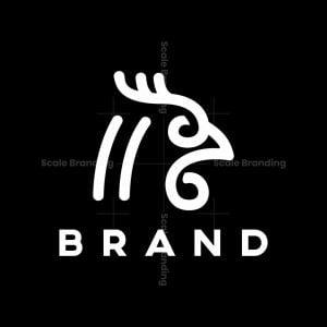 Minimal Rooster Logo
