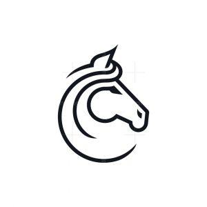 Minimalist Horse Logo