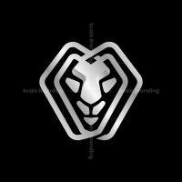 Modern Lion Head Logo