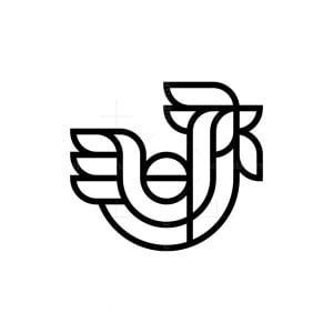 Modern Rooster Logo