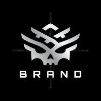 Modern Skull Logo