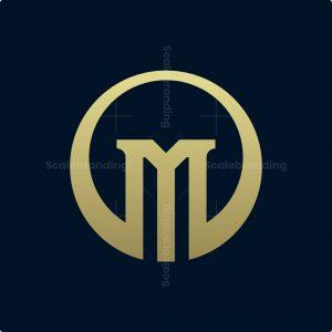 Monogram M Circle Logo