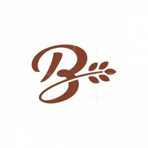 Organic Letter B Logo