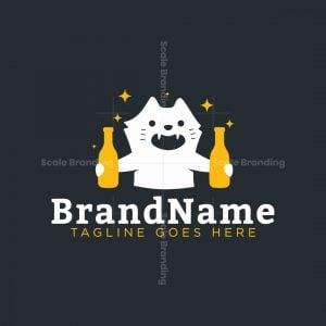 Party Cat Logo