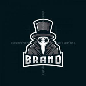 Plague Doctor Mascot Logo