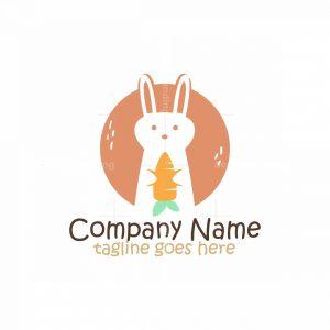 Rabbit Carrot Logo