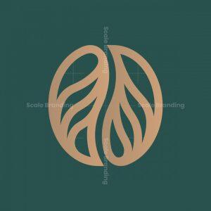 Root + Coffee Bean Logo