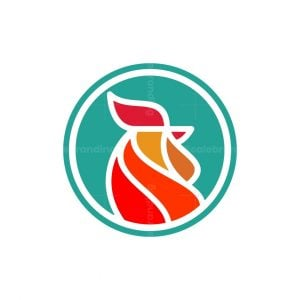 Rooster Head Logo