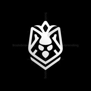 Royal Lion Shield Logo