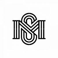 Letter Sm Or Ms Logo