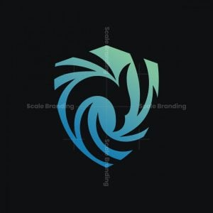 Shield Phoenix Logo