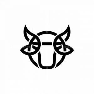 Simple Bull Logo