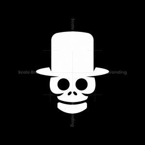 Skull Gentleman Logo