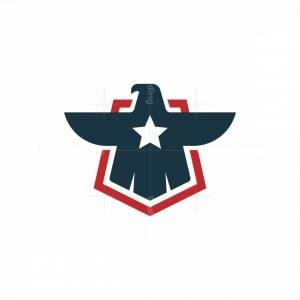 Star Falcon Shield Logo