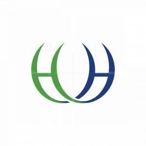 Stylish Letter Hh Logo
