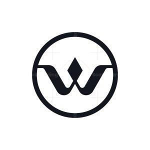 Trendy Letter W Logo