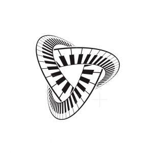 Triangle Piano Logo