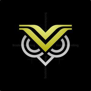 V Owl Logo