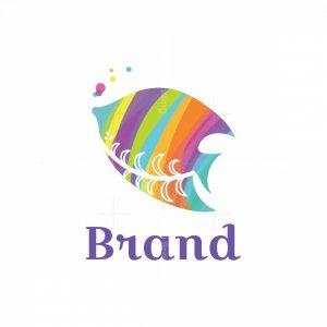 Angelfish Colorful Logo