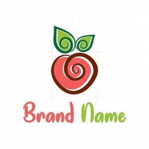 Heart Peach Logo