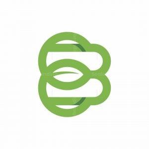 Be Or B Leaf Logo