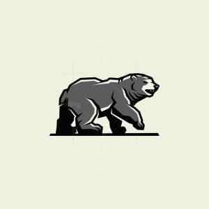 Bear Mascot Logo