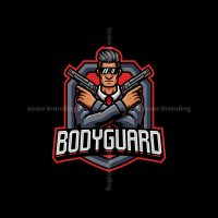 Bodyguard Mascot Logo