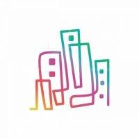 Colourful Building Logo