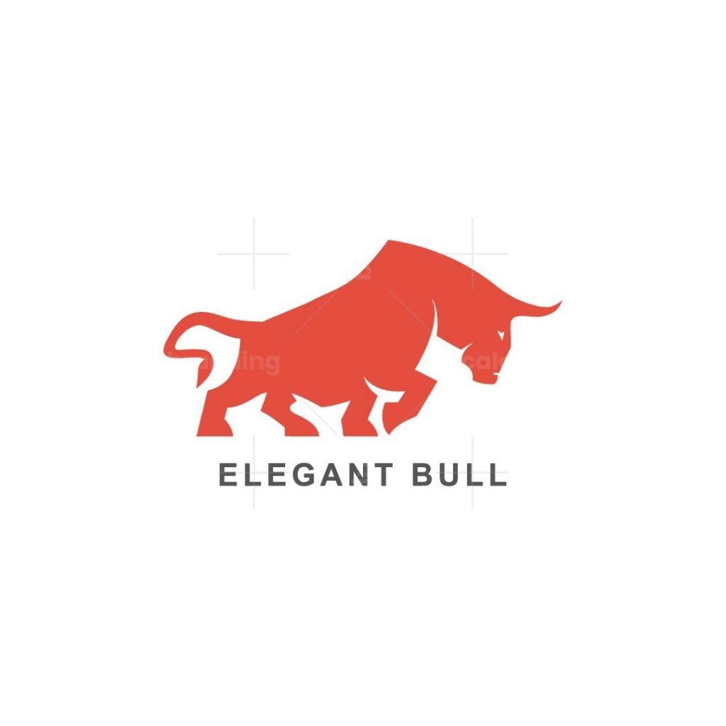 Abstract Bull Logo