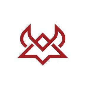 Monogram Bull Mark Logo