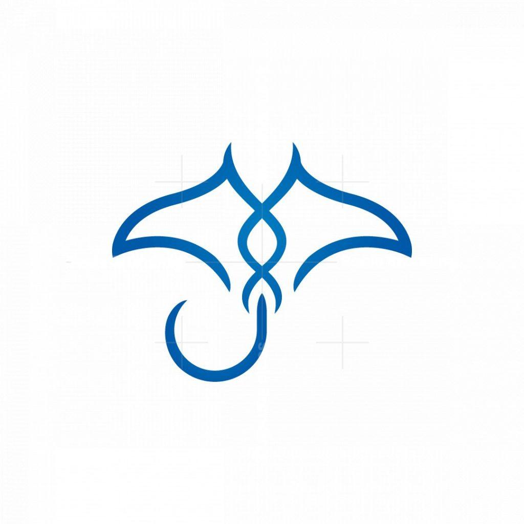 Medical Stingray Logo Manta Ray Logo