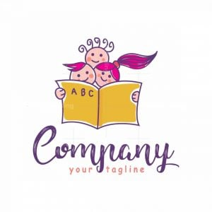 Happy Kids Book Logo