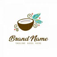 Coconut Leaves Logo